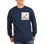 1973 West Long Sleeve Dark T-Shirt
