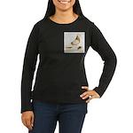 1973 West Women's Long Sleeve Dark T-Shirt