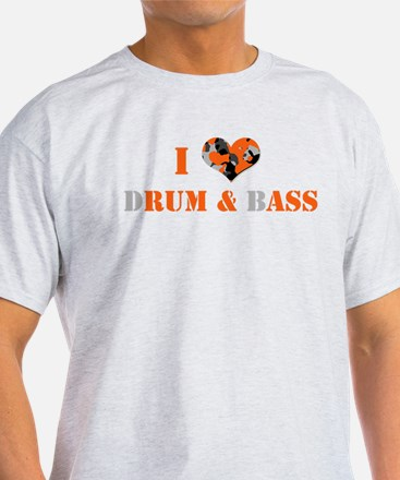 I Love dRum & bAss T-Shirt