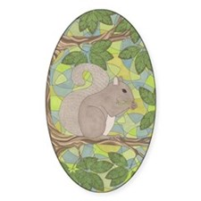 Grey Squirrel Decal