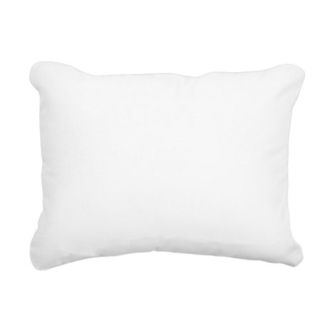SpellingBee_white Rectangular Canvas Pillow