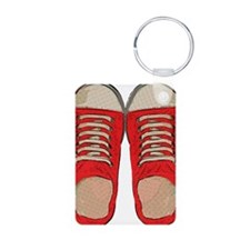 Red Sneakers Keychains