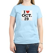 I Heart October 29 T-Shirt