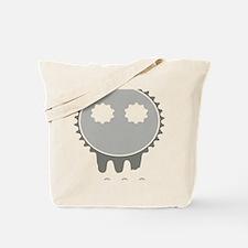 skull rider dark Tote Bag