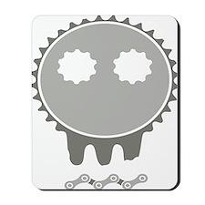 skull rider dark Mousepad