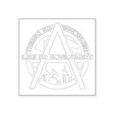 "anarchyblack Square Sticker 3"" x 3"""