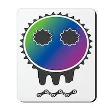 skull rider color Mousepad