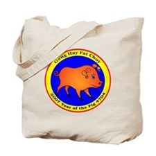 Chinese New Year of the Pig Tote Bag