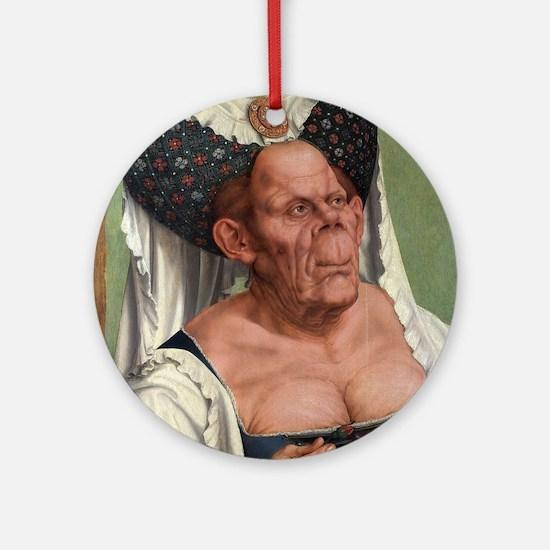 The Ugly Duchess - Quinten Massys - c 1520 Round O