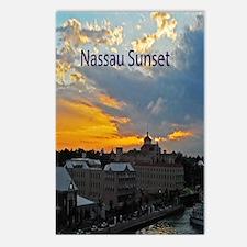 sunset Nassau7.35x9.45 Postcards (Package of 8)