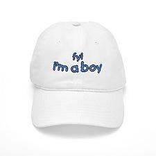 fyi Im A Boy Baseball Cap