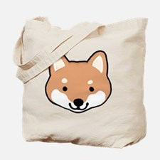 shibafacestroke Tote Bag