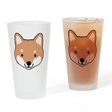 shibafacestroke Drinking Glass