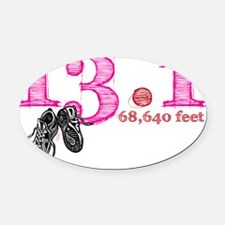 13.1p Oval Car Magnet