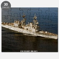 elliot large framed print Puzzle