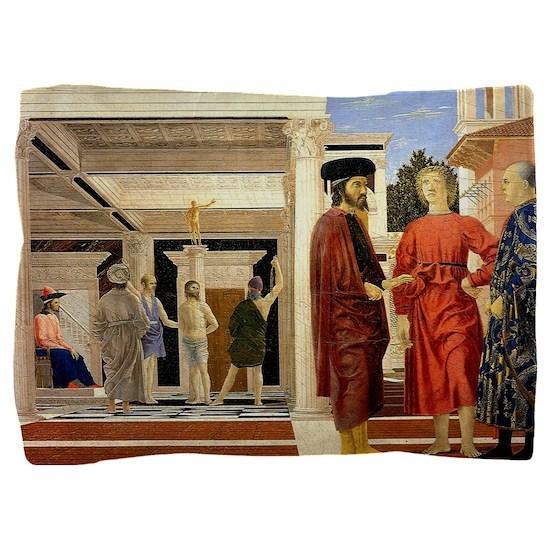 The Flaggelation - Piero della Francesca Pillow Sh