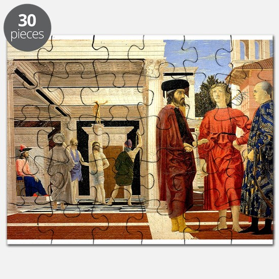 The Flaggelation - Piero della Francesca Puzzle