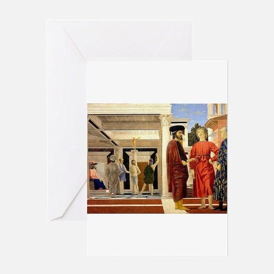 The Flaggelation - Piero della Francesca Greeting