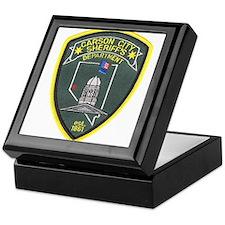 Carson City Sheriff Keepsake Box