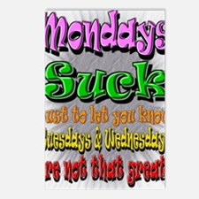 Monday Sucks a Postcards (Package of 8)