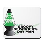 Groovy St. Patrick's Day Mousepad