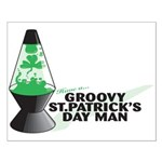 Groovy St. Patrick's Day Small Poster