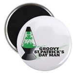 Groovy St. Patrick's Day Magnet