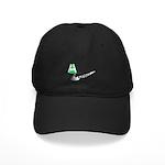 Groovy St. Patrick's Day Black Cap