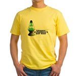 Groovy St. Patrick's Day Yellow T-Shirt
