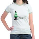 Groovy St. Patrick's Day Jr. Ringer T-Shirt