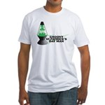 Groovy St. Patrick's Day Fitted T-Shirt