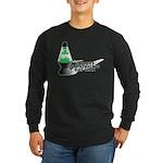 Groovy St. Patrick's Day Long Sleeve Dark T-Shirt