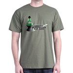 Groovy St. Patrick's Day Dark T-Shirt