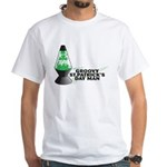 Groovy St. Patrick's Day White T-Shirt
