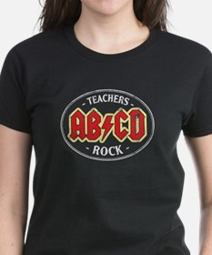 Vintage Teachers Rock (dark) T-Shirt