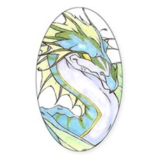 Blue Dragon Decal