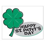 Happy St. Patty's Day Small Poster
