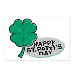 Happy St. Patty's Day Postcards (Package of 8)