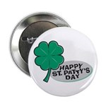 Happy St. Patty's Day Button