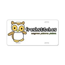 frong Aluminum License Plate