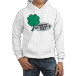 Happy St. Patty's Day Hooded Sweatshirt