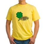 Happy St. Patty's Day Yellow T-Shirt