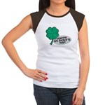 Happy St. Patty's Day Women's Cap Sleeve T-Shirt