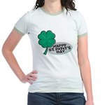 Happy St. Patty's Day Jr. Ringer T-Shirt