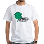 Happy St. Patty's Day White T-Shirt