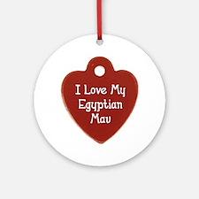 Love Mau Ornament (Round)