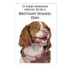 Brittany Dad Postcards (Package of 8)