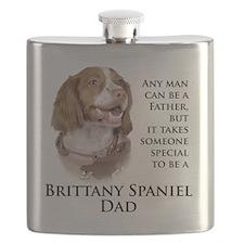 Brittany Dad Flask