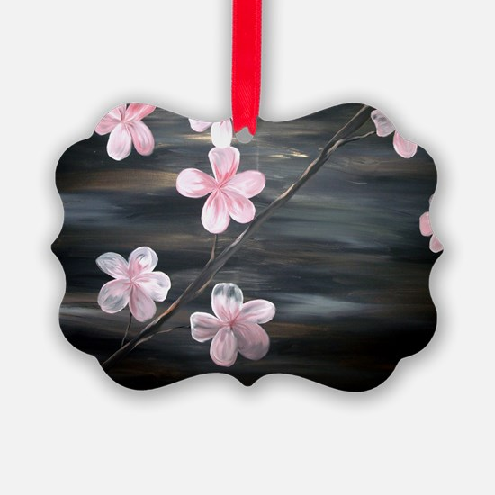 cherry blossom print Ornament