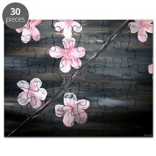 cherry blossom print Puzzle